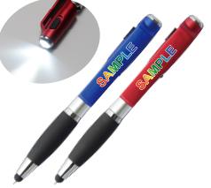 LED付スマホスタンドタッチペン フルカラー名入れ専用