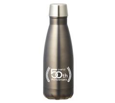 真空スリムネックボトル350ml 回転シルク印刷