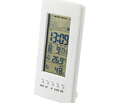 温湿度計付デジタルクロック