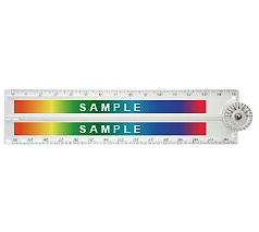 折りたたみコンパクト定規(30cm) フルカラー名入れ専用