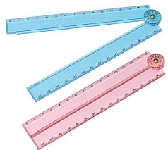 折りたたみコンパクト定規(30cm)