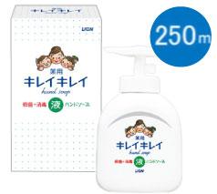 ライオン キレイキレイ薬用液体ハンドソープ 250ml 箱入